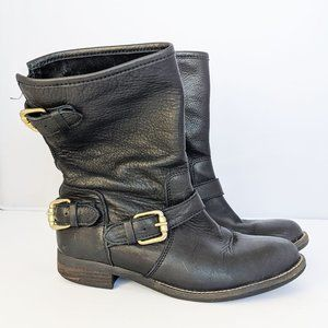 Steven by Steve Madden Energize Leather Boots 37 7